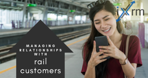 Managing relationships with rail customers