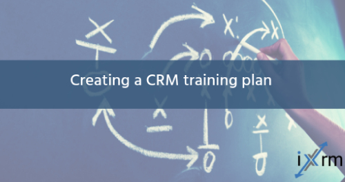 Creating a CRM training plan