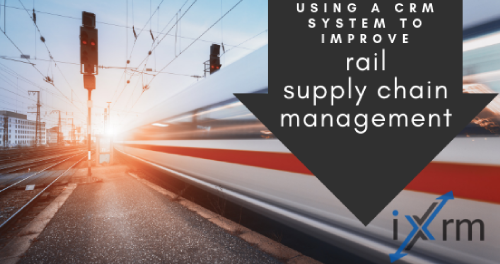 Using a CRM system to improve rail supply chain management