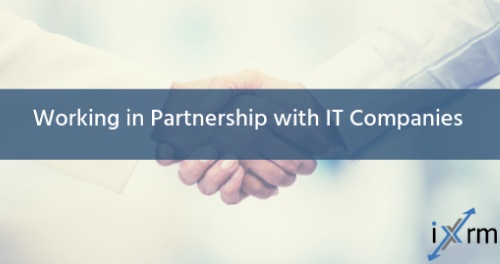Working in Partnership with IT Companies