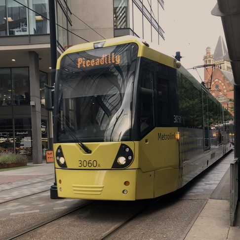 microsoft dynamics 365, photo of tram