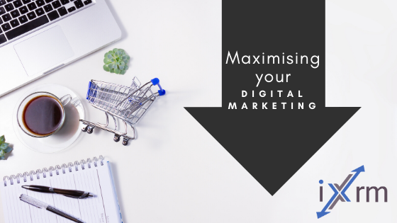 Maximise your digital marketing with CRM