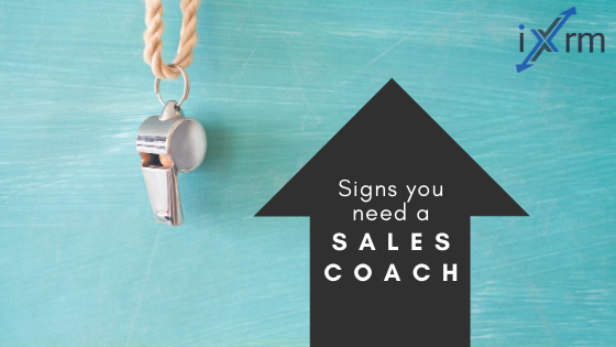 Signs you need a sales coach